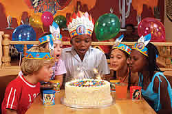 restaurants Richards Bay, family restaurant, Bronco Creek Spur - kids birthday parties