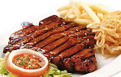 restaurants Richards Bay, family restaurant, Bronco Creek Spur - steaks
