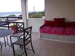 Sea views with the beach just 50 m away at Bentley Guesthouse in La Lucia