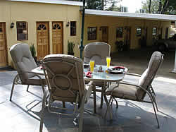 Melmoth Accommodation - Melmoth B&B Accommodation - Golf View Lodge for luxury, affordable accommodation in Melmoth - patio