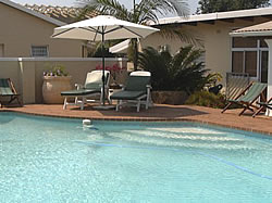 Beachside Guest House is self catering, with en-suite shower, offering either single or king size beds
