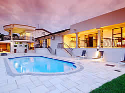 Sanchia Luxury Guesthouse in Glen Ashley with 6 stylish rooms, pool and entertainment area